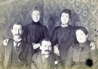 sherman potterf family photo 1900s