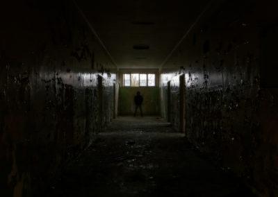 Abandoned Legnica Hospital Hallway Poland Urbex
