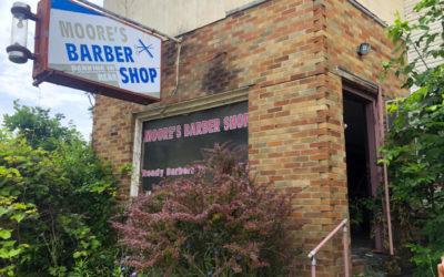 Abandoned Barber Shop in Dayton, Ohio