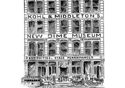 dime museum kohl and middletons cincinnati