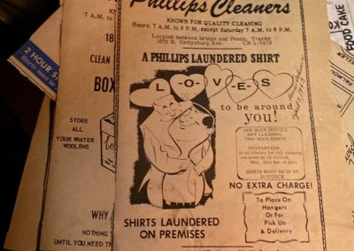 phillips cleaners 1963 newspaper ad loves