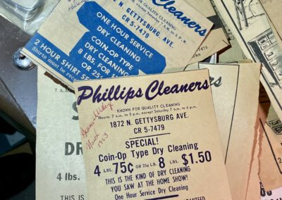 phillips cleaners 1963 newspaper ads