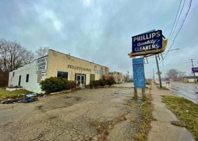 phillips dry cleaner dayton abandoned