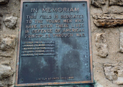 Abandoned field memoriam