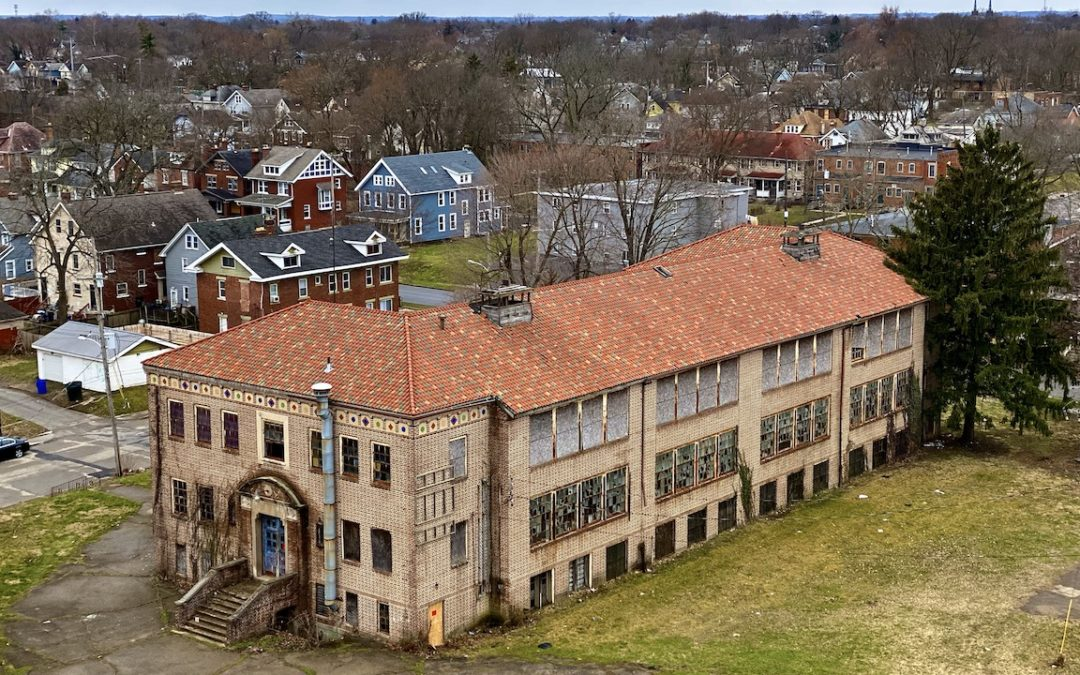 Exploring a 1920s Abandoned Catholic High School in Ohio | Holy Rosary