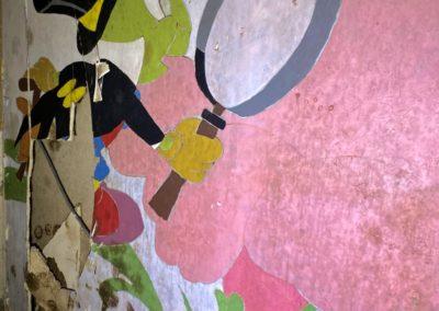 jiminy cricket mural painting