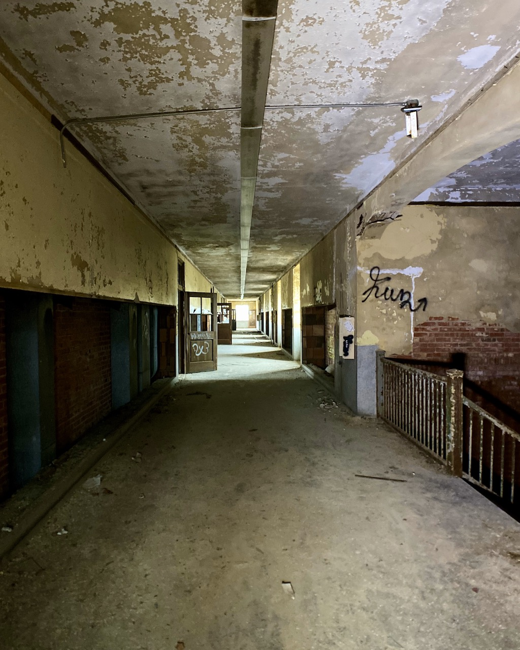 Abandoned School For Sale In Ohio Hallway
