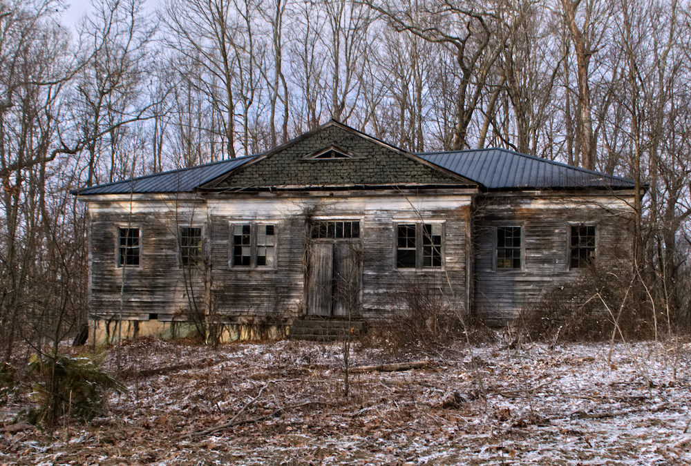 GOING INSIDE! 1910 ABANDONED SCHOOLHOUSE | West Virginia History