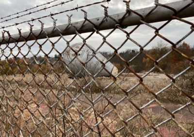 westinghouse atom smasher pittsburgh fence